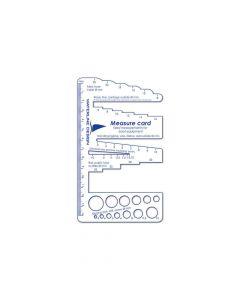 Measure card for boat details - #1060