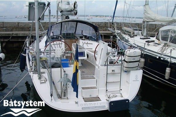 Beneteau Oceanis 40 Radar pole